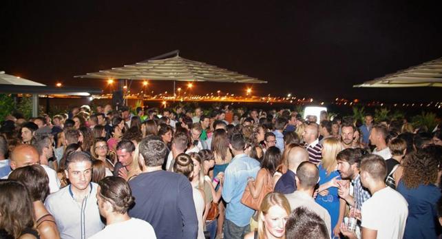 Festa nella Terrazza del DB Hotel Verona
