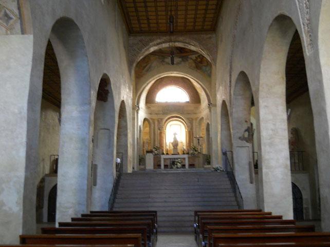 Navata Chiesa di Santo stefano