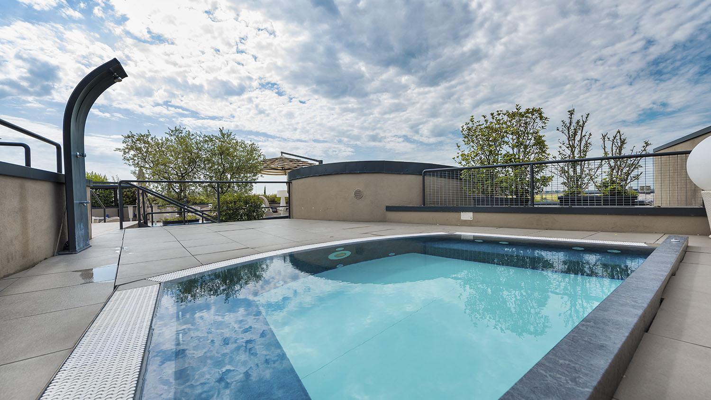 vasca idromassaggio hotel