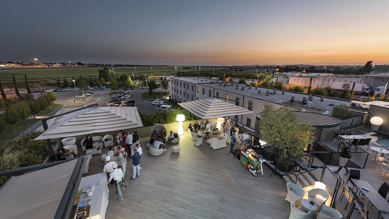 DB Terrace Hotel Verona sera